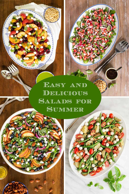 Sensational Salads to Serve all Summer Long!