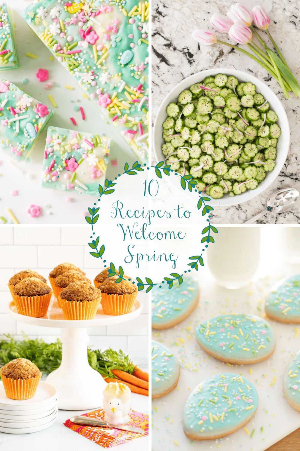Delicious Recipes To Put A Little Spring in Your Step!
