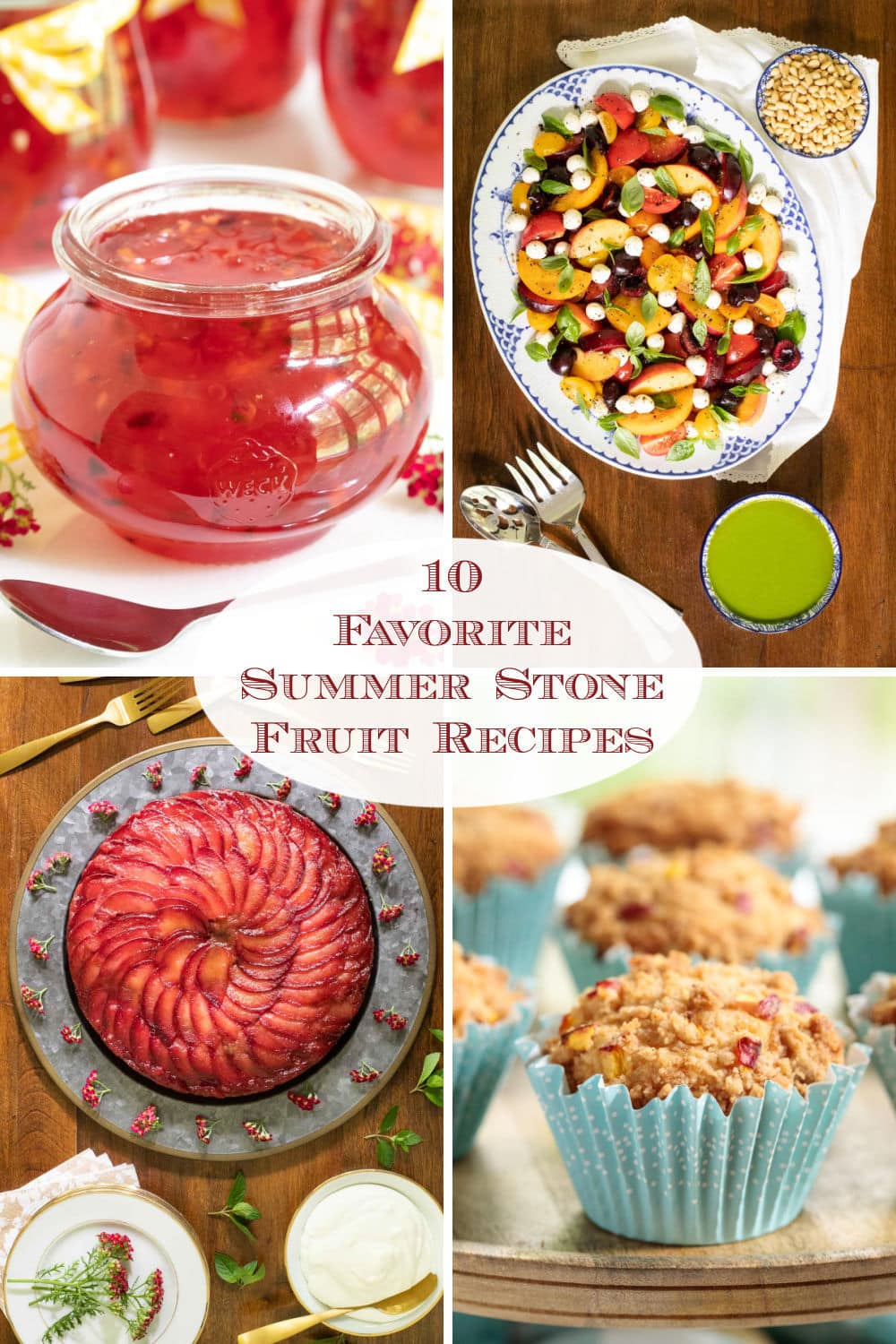 Delicious Stone Fruit Recipes to Enjoy All Summer Long!
