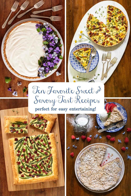 Ten Tempting Tart Recipes - Sweet and Savory!