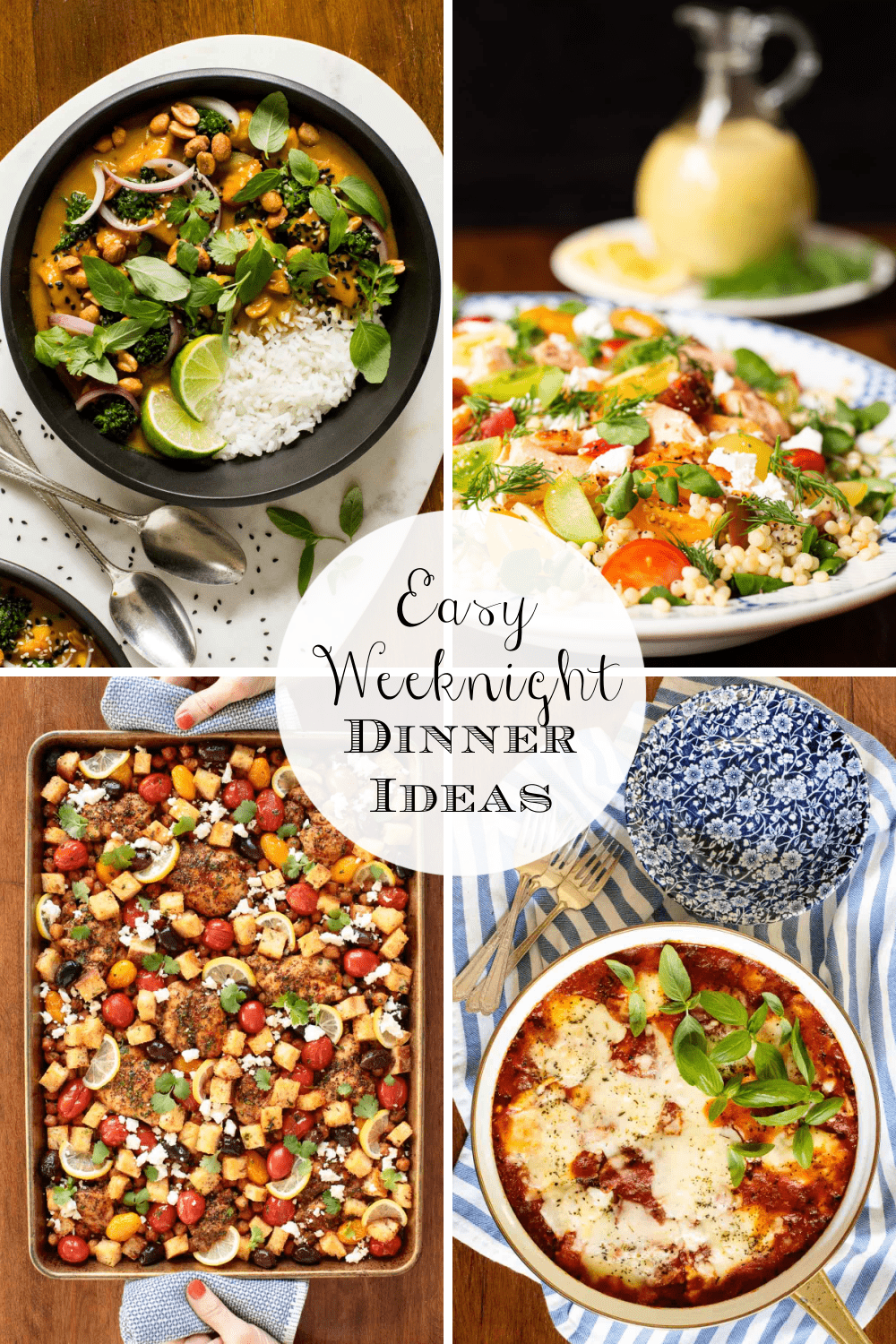Delicious, Easy Weeknight Dinner Ideas