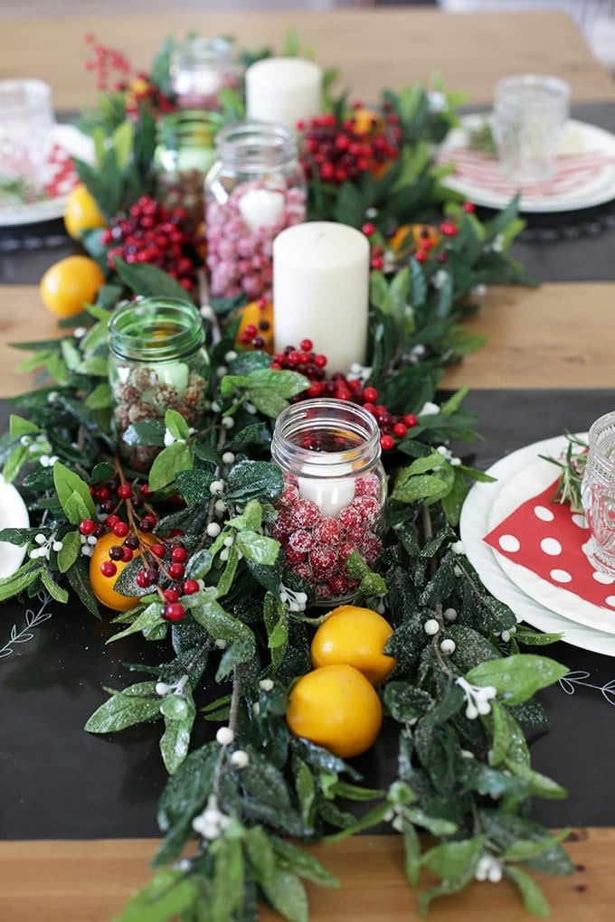 Photo of holiday tablescape ideas from One Lovely Life.